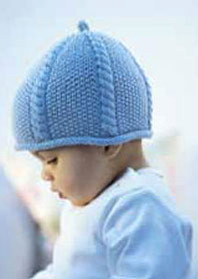 Debbie Bliss Baby Hat
