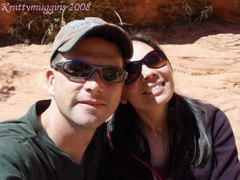 A happy day at Red Rock Canyon - April 17, 2008