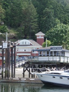Customs at Bedwell Harbor, Souther Pender Island