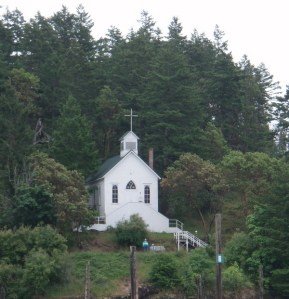 Church in Roche Harbor