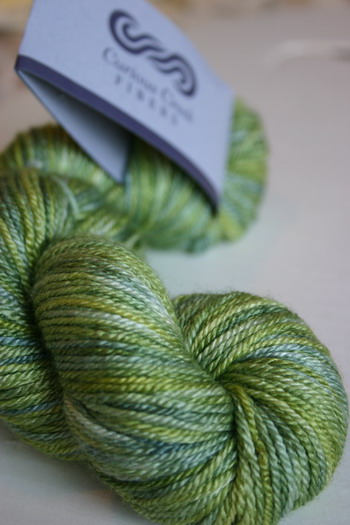 "2 Skeins of Curious Creek Omo in ""Birches in Norway"""