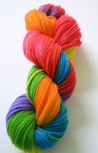 Plymouth Happy Feet - Hand-dyed with Paas Easter Egg Dyes