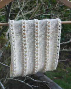 Another Stacked Eyelet Cowl